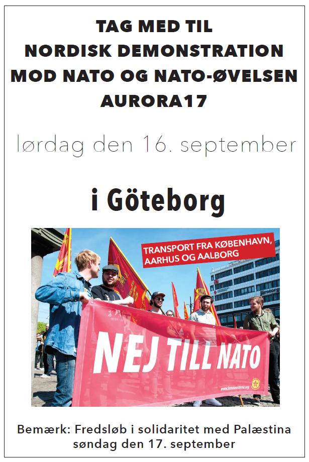 Rød weekend i Gøteborg